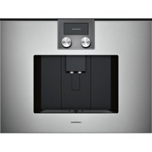 200 series 200 series fully automatic espresso machine Glass front in Gaggenau Metallic