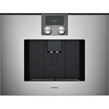 200 series 200 series fully automatic espresso machine Glass front in Gaggenau Metallic