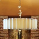 Fluted Pendant-Nickel-Enormous Product Image