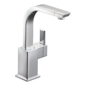 90 Degree chrome one-handle bar faucet Product Image