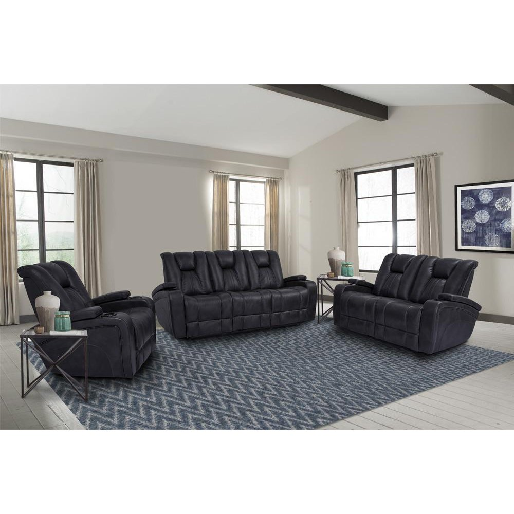 Optimus Midnight Power Reclining Collection