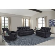 Optimus Midnight Power Reclining Collection Product Image