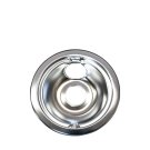 Smart Choice 6'' Chrome Drip Bowl Product Image