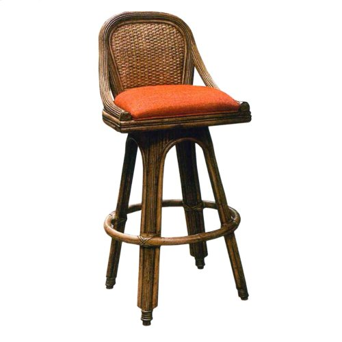 30'' Bar Stool, Available in Antique Palm Finish Only.