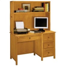 Woodland Pecan Desk/Hutch