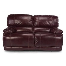 Belmont Leather Reclining Loveseat