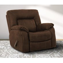 CAESAR - DARK KAHLUA Manual Glider Recliner