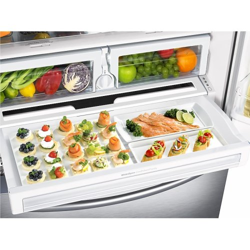 28 cu. ft. French Door Refrigerator with CoolSelect Pantry in Stainless Steel