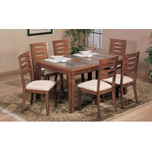 5 PC Gathering Set W/4 Stools