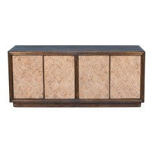 Parquet Panels Wall Sideboard