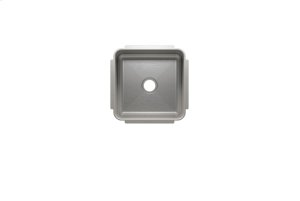 """Classic 003219 - undermount stainless steel Bar sink , 12"""" × 12"""" × 7"""" Product Image"""