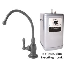 "The ""Little Gourmet""® Instant HOT Water Dispenser Kits with Heating Tank"