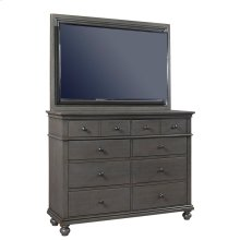 TV Frame Oxford Peppercorn