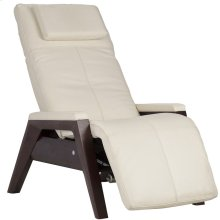 Gravis ZG Chair with Free Stay Well™ Weighted Blanket - Bone - Mahogany