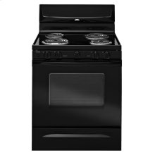 "Whirlpool® 30"" Standard Clean ADA Compliant Freestanding Electric Coil Range"
