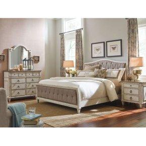 Upholstered Queen Bed Complete