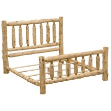 Traditional Bed - King - Natural Cedar