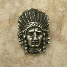 Indian Head Knob