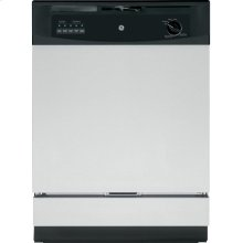 GE® Built-In Dishwasher. (This is a Stock Photo, actual unit (s) appearance may contain cosmetic blemishes. Please call store if you would like actual pictures). This unit carries A ONE YEAR MANUFACTURER WARRANTY. REBATE NOT VALID with this item. ISI 34135GH