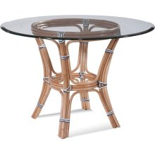 "Pier Point 42"" Round Dining Table with Bevel"