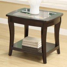 Annandale - Side Table - Dark Mahogany Finish