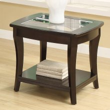Annandale - Side Table - Dark Mahogany Finish