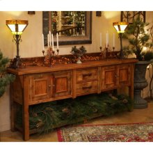 Stony Brooke - 8′, 4 Door 2 Drawer Sideboard