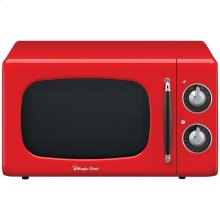 .7 Cubic -ft 700-Watt Retro Microwave (Red)