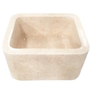 Cather Single Bowl Marble Farmer Sink Product Image