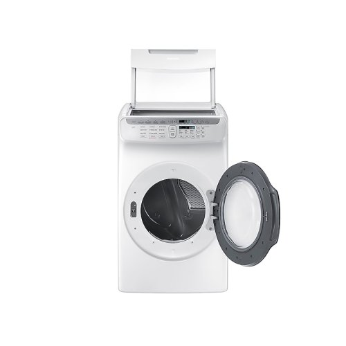 7.5 cu. ft. FlexDry Electric Dryer in White