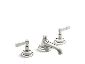 Sink Faucet, Lever Handles - Nickel Silver Product Image