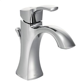 Voss chrome one-handle bathroom faucet