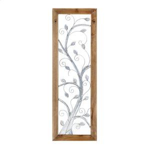 Nadra Tree Wall Art with Wooden Frame