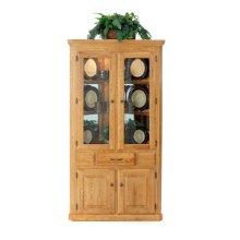 Corner Hutch W/2 Full Doors