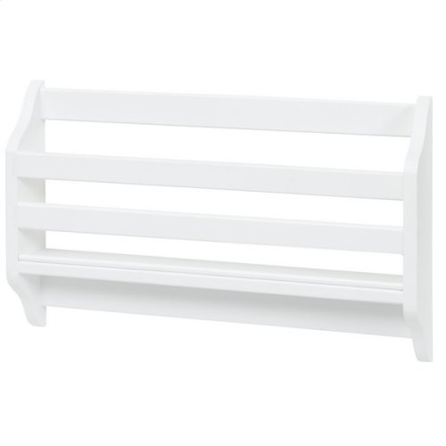 Magazine Rack : White