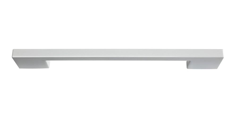 Thin Square Pull 7 9/16 Inch (c-c) - High White Gloss