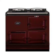 Claret 2-Oven AGA Cooker (gas) Cast-iron range cooker