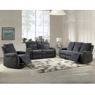 "Empire Console Loveseat Navy 74"" x 38"" x 39"" Product Image"