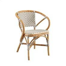 Grey Pearl Bistro Chair