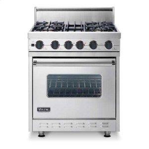 """Apple Red 30"""" Sealed Burner, Dual Fuel Range - VDSC (30"""" wide range with four burners, single oven)"""