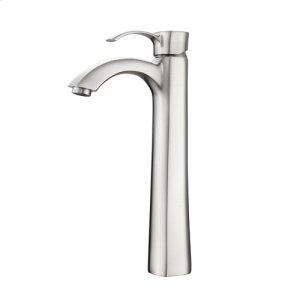 Elyria Single Handle Vessel Faucet - Brushed Nickel Product Image