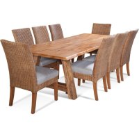 "Bellport 102"" Live Edge Dining Set Product Image"