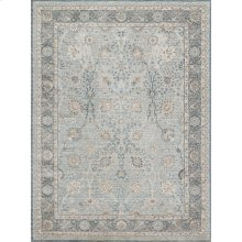 "Ella Rose Light Blue Rug - 2'-7"" X 4'"