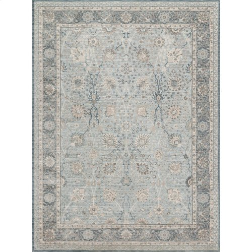 "Ella Rose Light Blue Rug - 5'-3"" X 7'-6"""