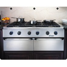 Trim Kit for Epicure EG486 and EG386 Cooktop trim kit to change color of knobs, bullnose and handle endcaps to Black Chrome