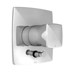 "1/2"" Pressure Balance Valve With Diverter and Shower Trim Kit - Chrome Product Image"