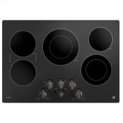 """GE Profile™ 30"""" Built-In Knob Control Electric Cooktop Product Image"""
