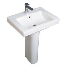 Pedestal - White Alpin