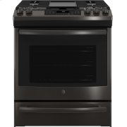 "GE® 30"" Slide-In Front-Control Convection Gas Range Product Image"