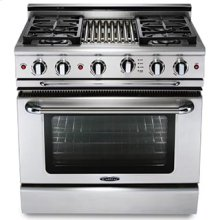 "Precision 36"" Gas Self Clean Range"